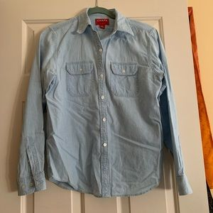 Nice Women's Cotton Denim Chaps Button Up